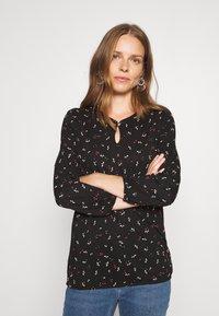 Esprit - CORE - Long sleeved top - black - 0