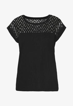 ONLNEW NICOLE LIFE - T-shirt med print - black