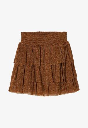 Mini skirt - monks robe