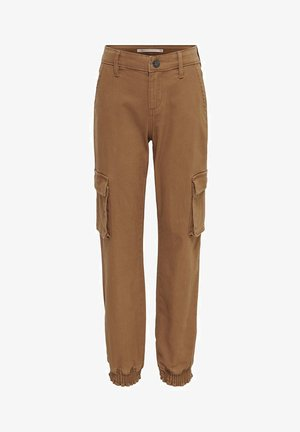 Cargo trousers - toasted coconut