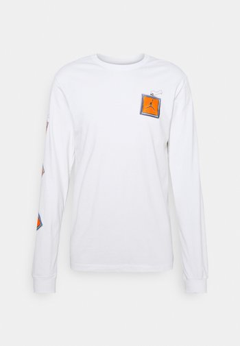 KEYCHAIN CREW - T-shirt à manches longues - white
