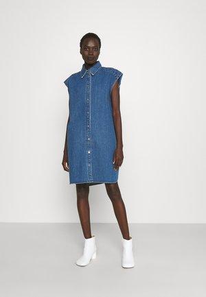 DYLAN LESS DRESS KAIRO - Denim dress - denim blue