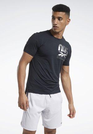 ACTIVCHILL GRAPHIC MOVE T-SHIRT - T-Shirt print - black