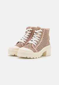 River Island - Lace-up ankle boots - beige - 2