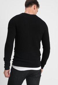 Selected Homme - SHHNEWDEAN CREW NECK - Jumper - black - 2