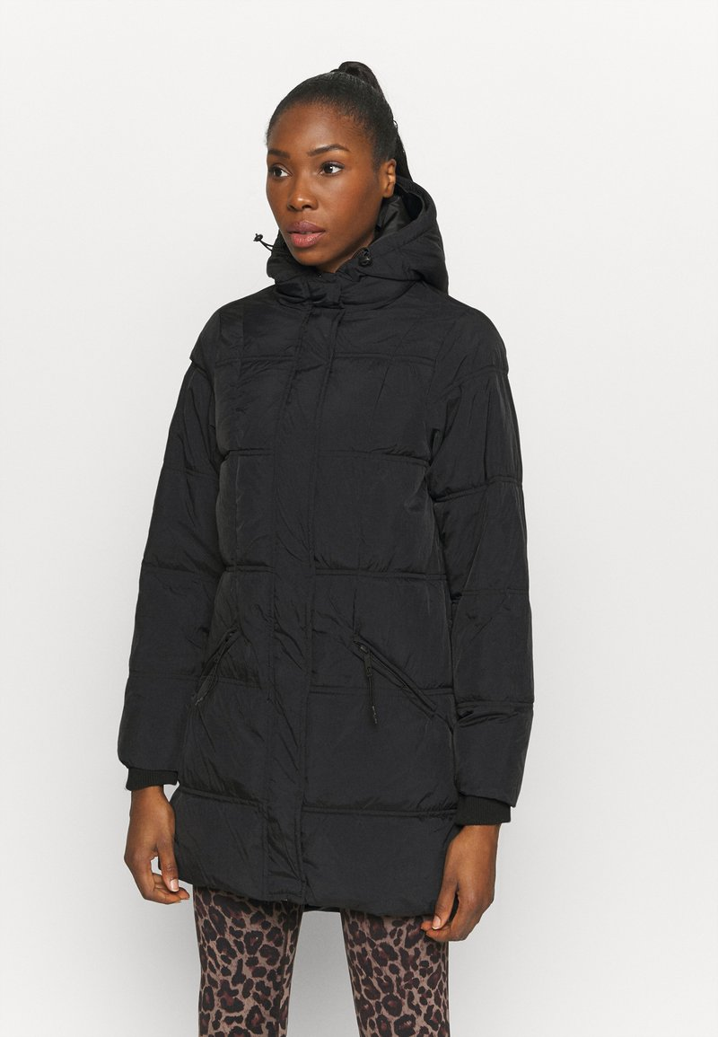 Cotton On Body - THE MOTHER MID LENGTH PUFFER - Veste d'hiver - black
