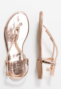 Laura Biagiotti - T-bar sandals - mirror skin - 3