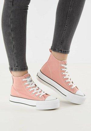 KAYA  - Vysoké tenisky - pink