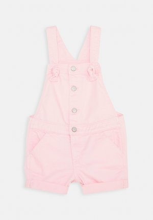 TODDLER GIRL SHORTALL - Lacláče - pink denim