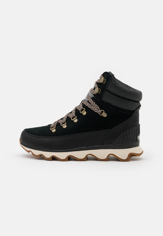 KINETIC CONQUEST - Lace-up ankle boots - black