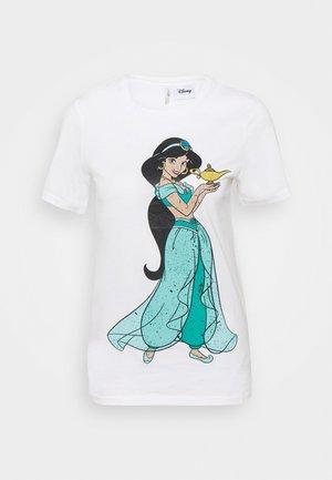 ONLDISNEY LIFE - Camiseta estampada - bright white