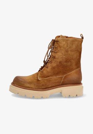 Platform ankle boots - bruciato