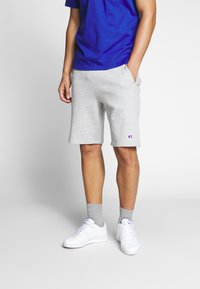 Russell Athletic Eagle R - FORESTER - Pantaloni sportivi - new grey marl - 0