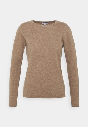 O NECK TUBE  - Jumper - mink