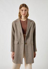 PULL&BEAR - Short coat - dark grey - 0