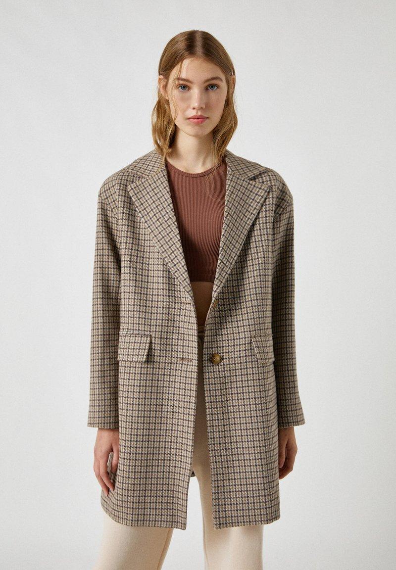 PULL&BEAR - Short coat - dark grey