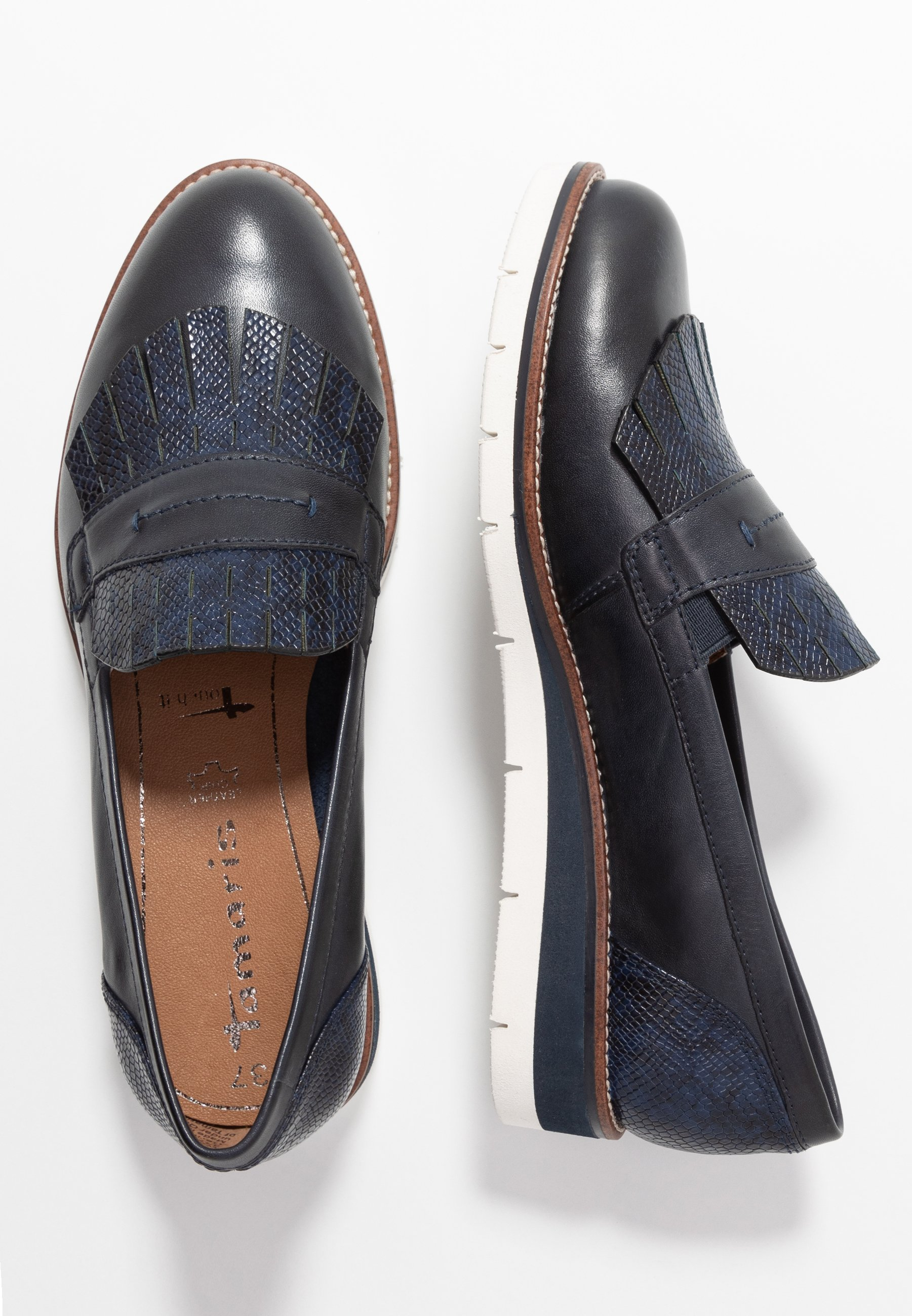 Tamaris SLIP-ON - Slippers - navy