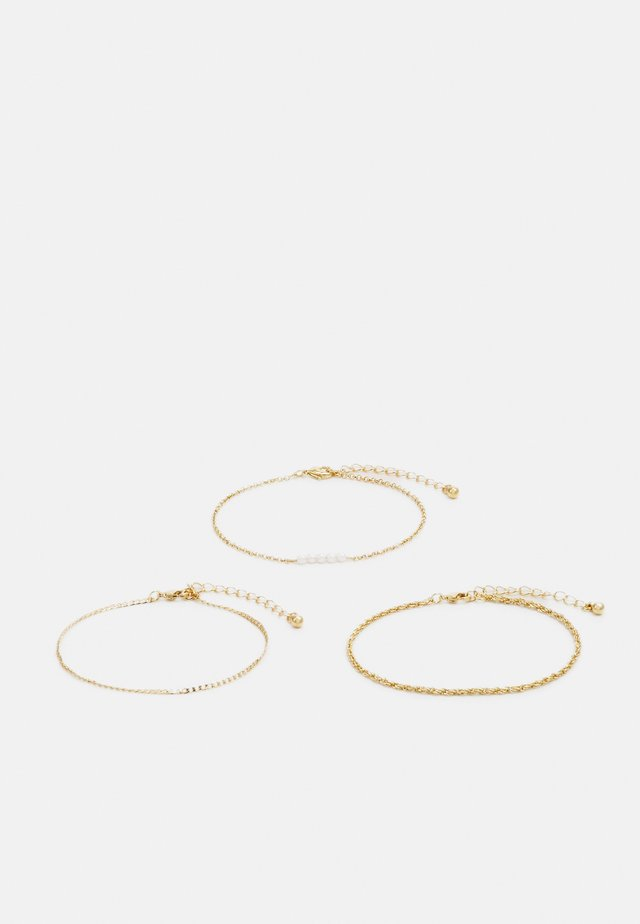 PEARL 3 PACK - Armband - gold-coloured