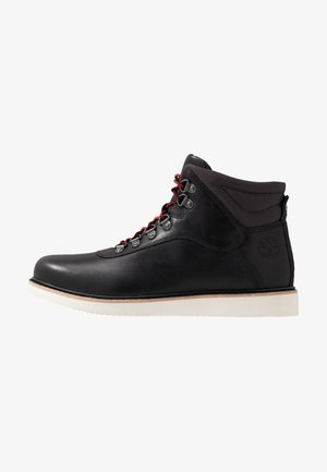 NEWMARKET MID BOOT - Lace-up ankle boots - black