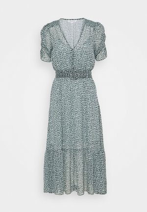 FREYA GATHER SLEEVE MIDI DRESS - Vestito estivo - winter speckle