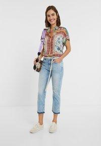 Desigual - PONDIO - Straight leg jeans - blue - 1