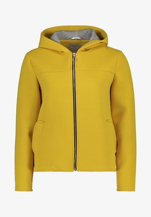 MIT KAPUZE - Zip-up hoodie - yellow