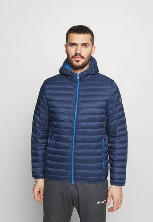 HOODED JACKET - Training jacket - blue
