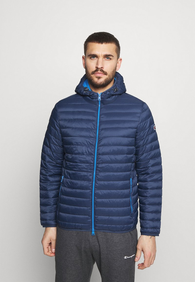 Champion - HOODED JACKET - Training jacket - blue