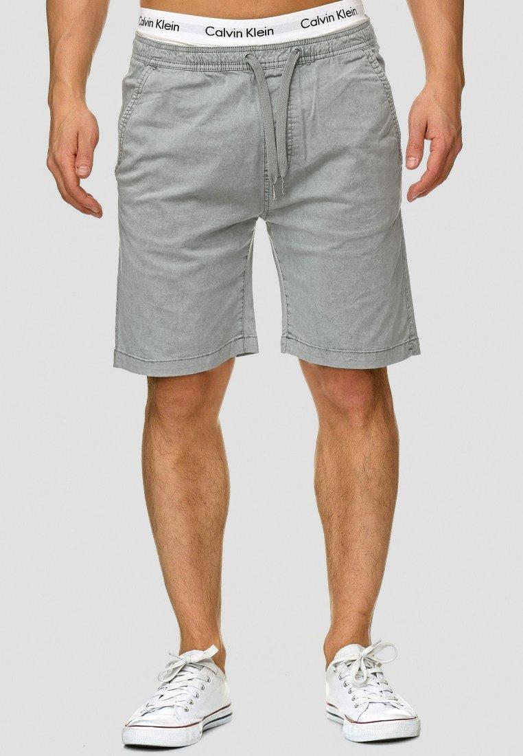 INDICODE JEANS - KELOWNA - Shorts - grey