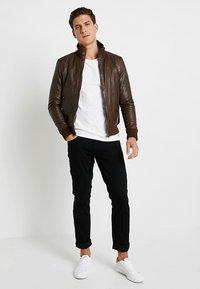 Serge Pariente - SOUL - Leather jacket - mocca - 1