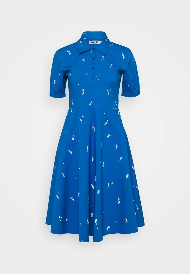 PRIM DRESS - Skjortklänning - warm indigo/chalk