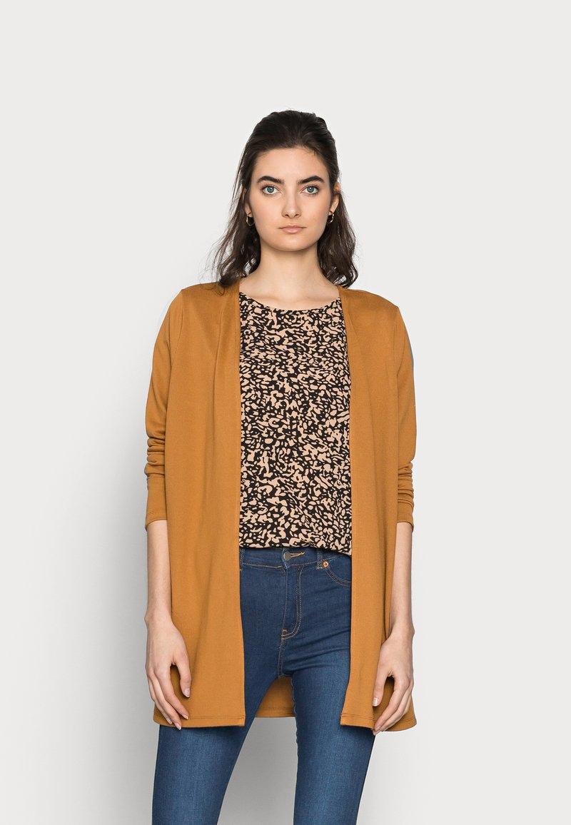 Vero Moda Tall - VMMOLLY CARDIGAN - Cardigan - tobacco brown