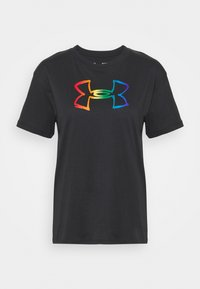 Under Armour - PRIDE GRAPHIC - Print T-shirt - black - 4