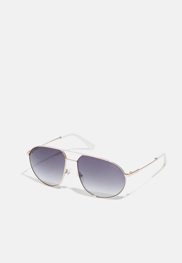 UNISEX - Okulary przeciwsłoneczne - gold-coloured/gradient smoke