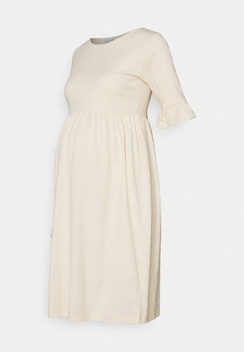 MLHAZEL DRESS - Jersey dress - ecru