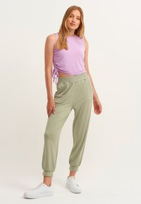 OXXO - Trousers - seagrass - 1