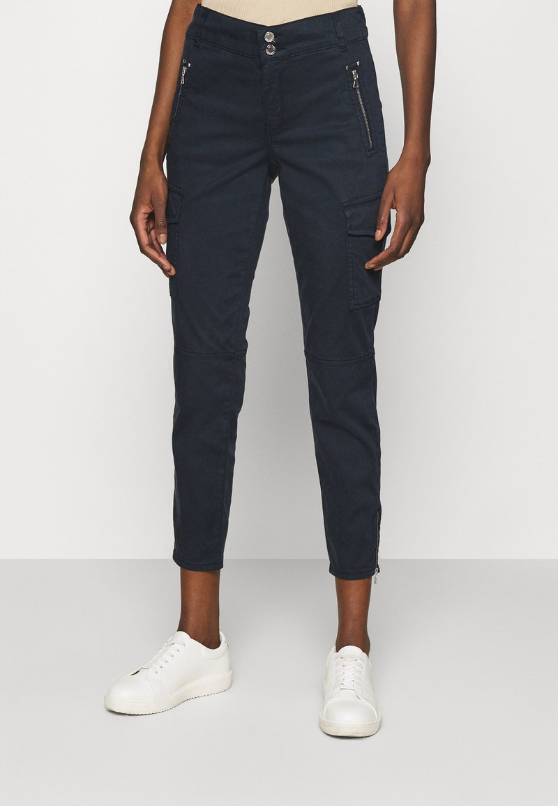 Mos Mosh - GILLES PANT - Cargo trousers - navy