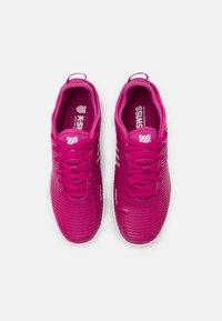 K-SWISS - HYPERCOURT SUPREME HB - Clay court tennis shoes - cactus flower/nimbus cloud/white - 3