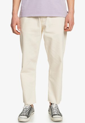 Spodnie materiałowe - antique white