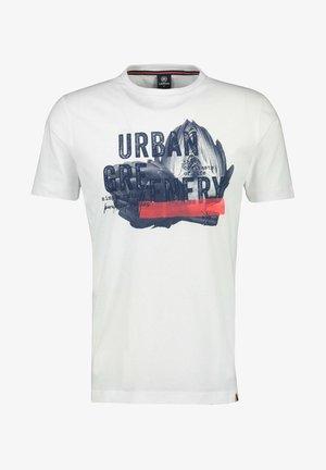 URBAN GREENERY - Print T-shirt - white