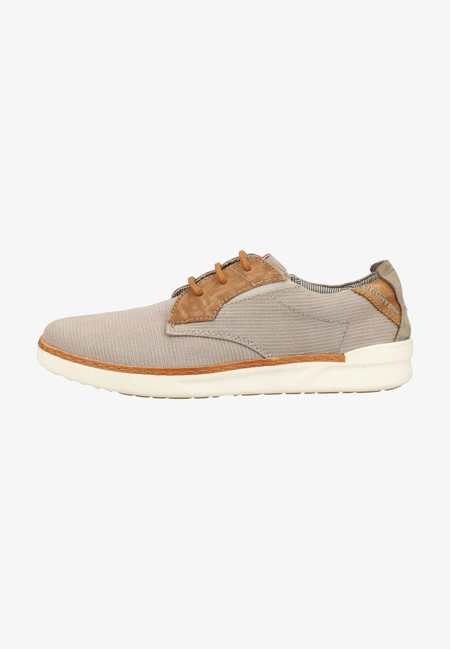 Trainers - grey/cognac