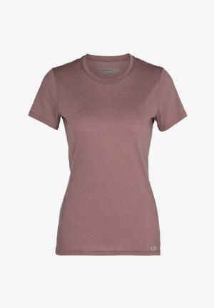 W AMPLIFY  - Basic T-shirt - suede