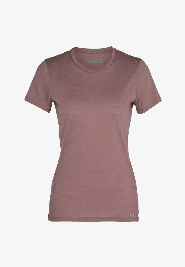 W AMPLIFY  - T-shirt basic - suede
