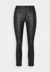 Dorothy Perkins Petite - ANIMAL FRANKIE - Jeans Skinny Fit - black - 3