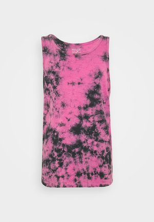 DYE TAN - T-shirt med print - pink