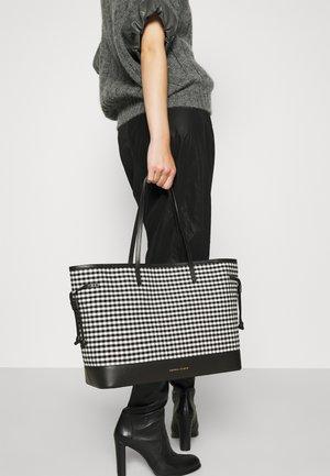 SOVANY - Tote bag - black/white