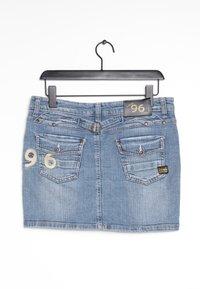 G-Star - Spódnica jeansowa - blue - 1