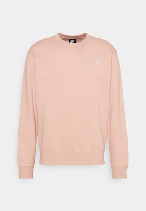 Collegepaita - arctic orange/white