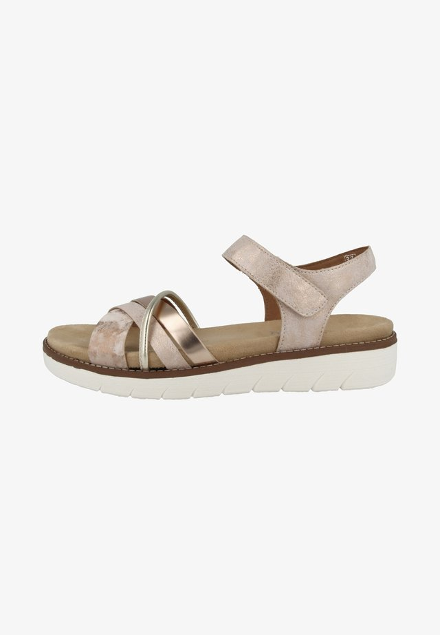 Sandalen - pink/rose gold/copper