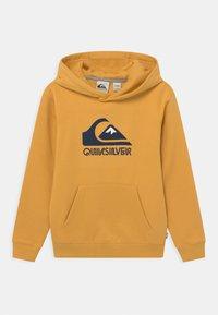Quiksilver - BIG LOGO YOUTH - Felpa con cappuccio - rattan - 0